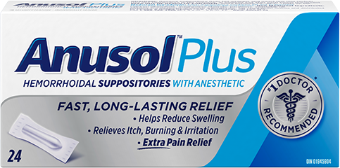 Anusol<sup>TM</sup> Plus Suppository